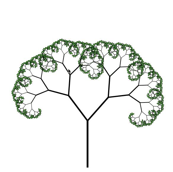 与树共舞:分形舞蹈可视化