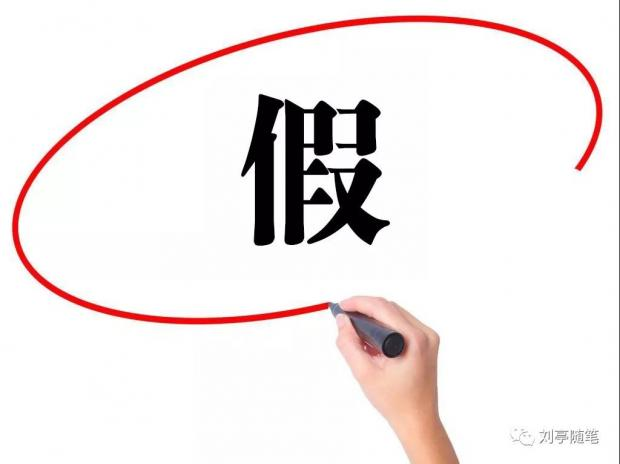 刘亭:经济工作的大忌之二:假#新观察系列#