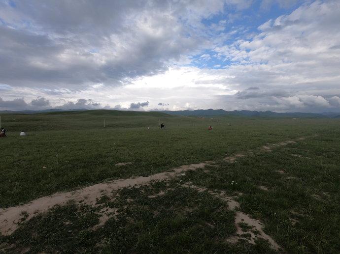 油画一样的湿地与梦境一样的诺尔盖草原