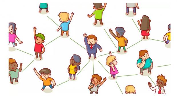 社交网络中的幂律分布:为什么有的人微信好友5000而你只有500?