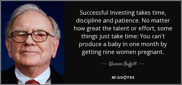 成功的投资需要长期坚持
