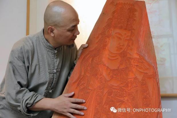 【论摄影】魏立中先生和十竹斋木版水印艺术
