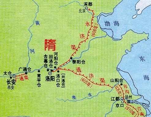 大运河是隋炀帝的纪念碑