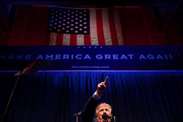 """特朗普的登场是因为""""沉默的大多数""""?"""