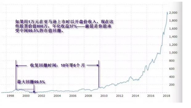 亚马逊涨幅800倍,却不是好股票?