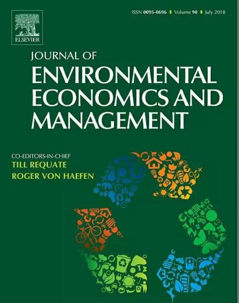 JEEM四十年: 环境与资源经济学的顶级发表与未来趋势
