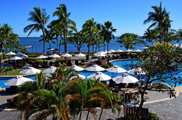 斐济之旅:碧海蓝天的假期