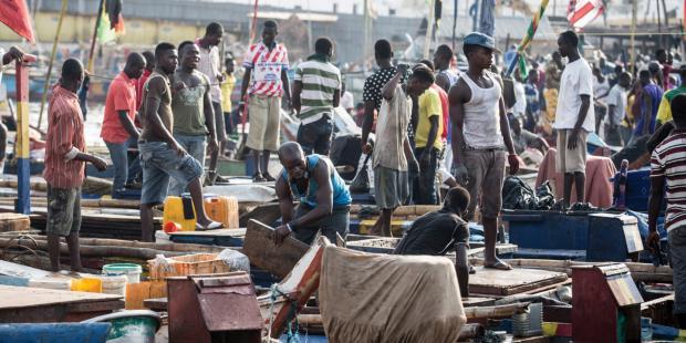 非法捕捞导致加纳鱼类资源锐减
