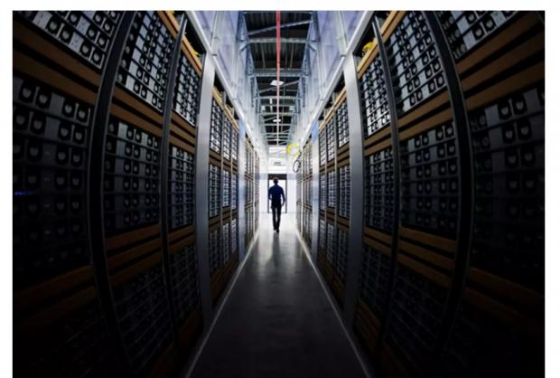 """正在被巨大数据中心吞噬的全球电力,谷歌脸书和比特币的""""源""""罪"""