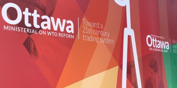 """渥太华部长会议:官员们呼吁为WTO改革提供""""持续和有意义的政治参与"""""""