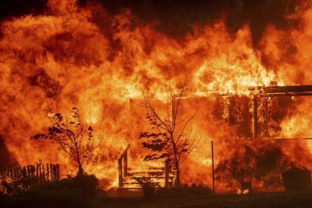 加州大火中的Pepperdine大学中国学生会