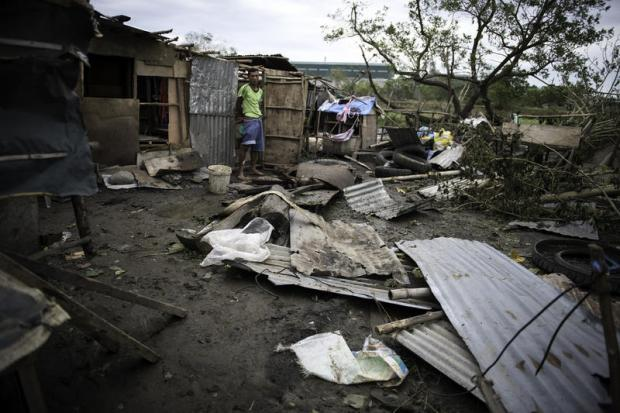 请听我说:台风灾民向化石燃料公司发出呼吁