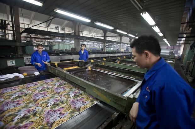 """""""去毒""""之路:纺织行业在中国的绿色挑战"""