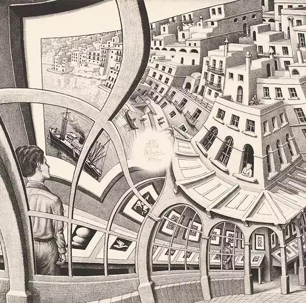 埃舍尔画作中的数学秘密