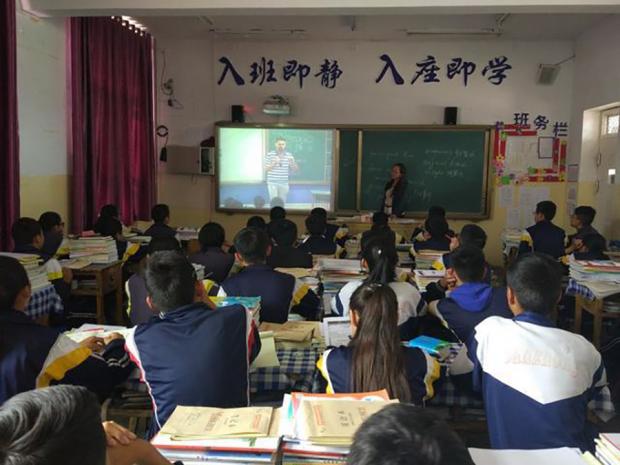"""作为教师,我支持""""这块屏幕""""的尝试"""