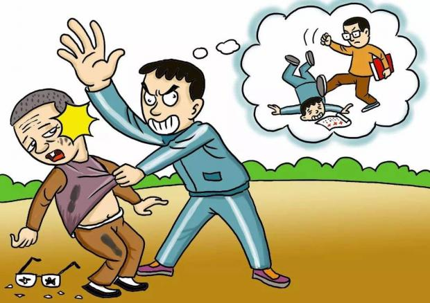 拦路扇老师耳光违法,但追究刑责要慎重
