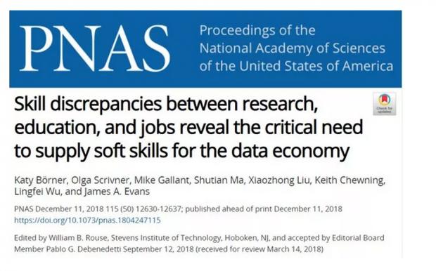 集智科学家PNAS发文:为什么未来社会我们更需要这些软技能