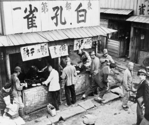 二战时期日本黑市价格研究