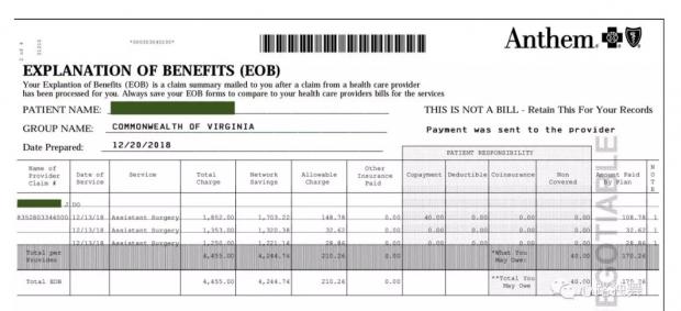 保险账单来了,在美国做个肩部手术要多少钱?