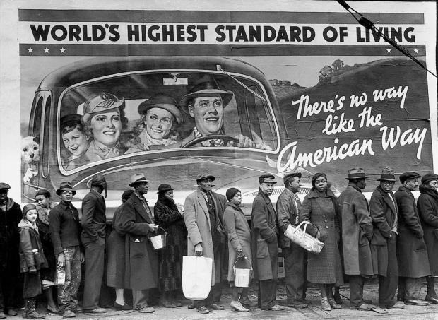 """困难时期,美国人也要""""共克时艰""""?"""