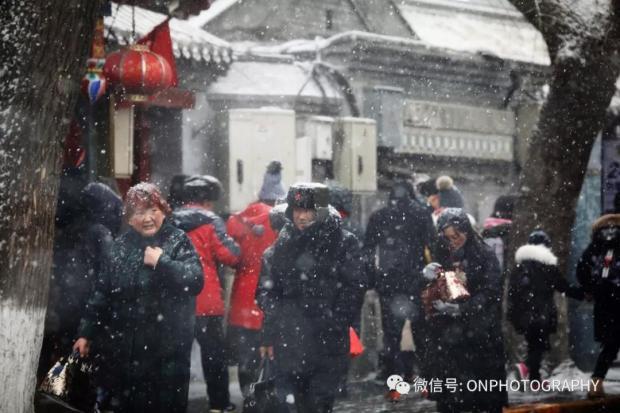 【论摄影】雪花蒙胧了北京城