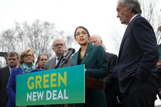 """""""绿色新政""""使气候变化重回舞台中心"""