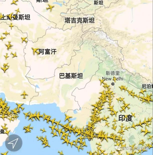 巴基斯坦领空全部关闭 印度机场部分关闭