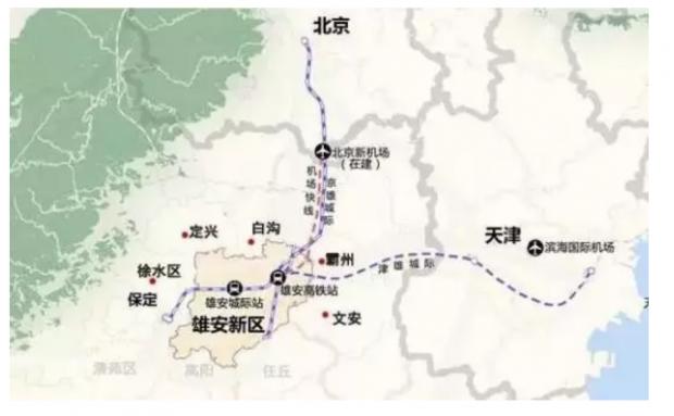 环雄安楼市冉冉升起,这是2019中国房地产最大变局?