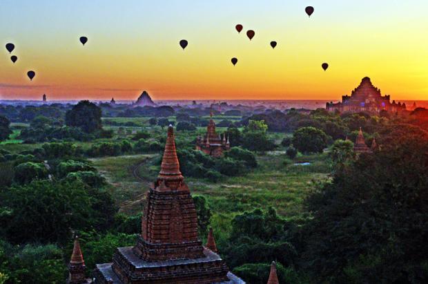 缅甸之旅:佛塔林立的蒲甘