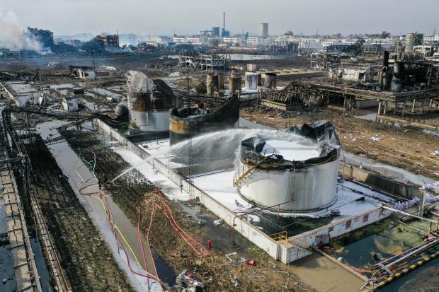 响水巨响:中国化学品管理吸取天津教训了吗?