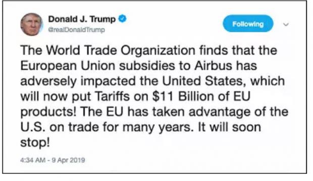 """中美贸易摩擦刚缓和,特朗普就向欧盟""""宣战"""",又一轮大风暴将至?"""
