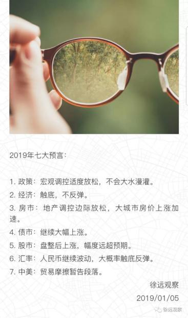财经纪要(2019.04.26)