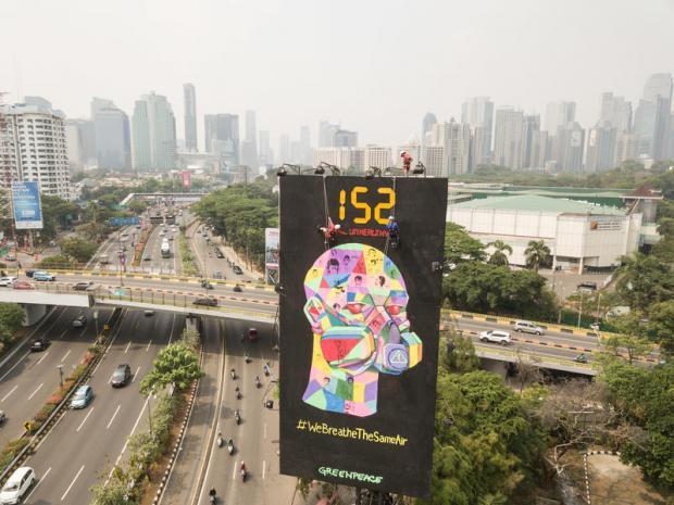 雅加达民众对空气污染采取法律行动