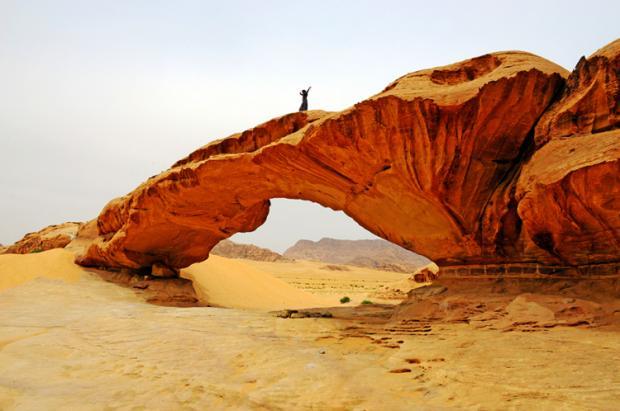 约旦之旅:劳伦斯的沙漠与城堡
