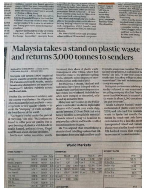 国家领土的污染没关系!