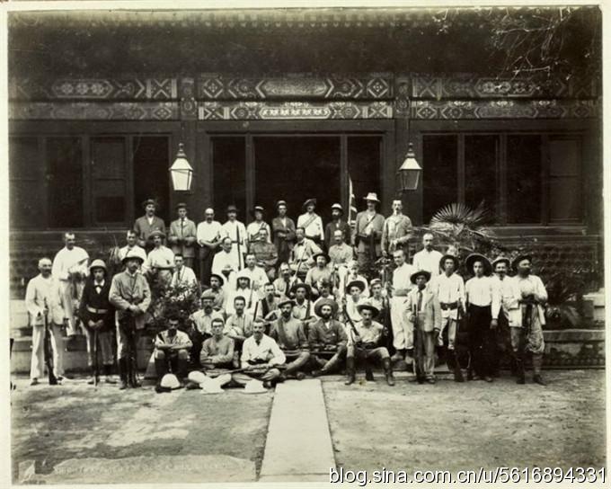 """[转载]老照片记录的1900年北京义和团运动,史称""""庚子事变"""""""