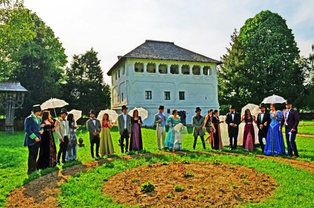 罗马尼亚之旅:贵族宅院的婚纱照