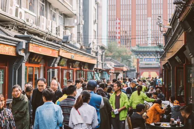 中国城市里的道路很难走吗?