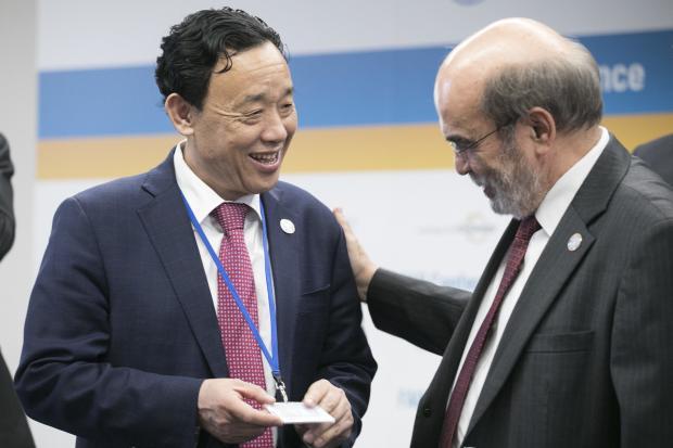 联合国粮农组织在重要关口迎来首位中国籍干事