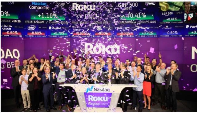 股价半年涨超259%,流媒体赛道拥挤Roku何以突出重围?