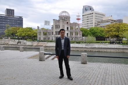 考察日本的广岛、长崎