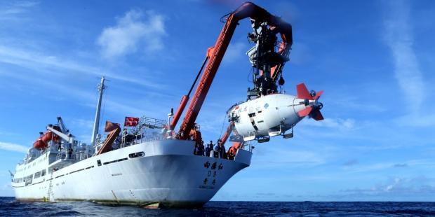 中国扩大深海采矿领域