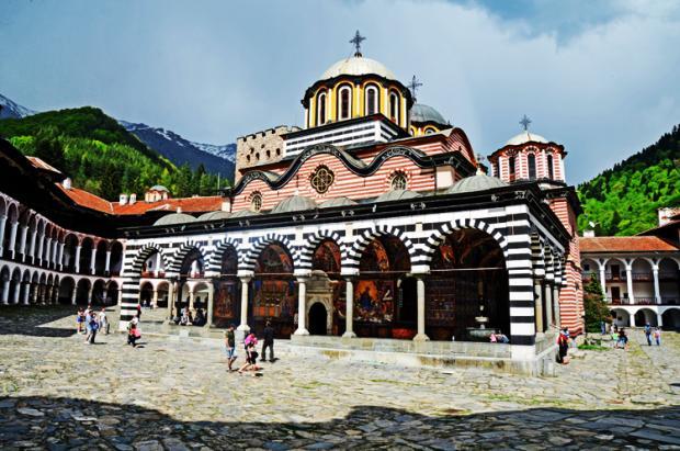 保加利亚之旅:里拉修道院