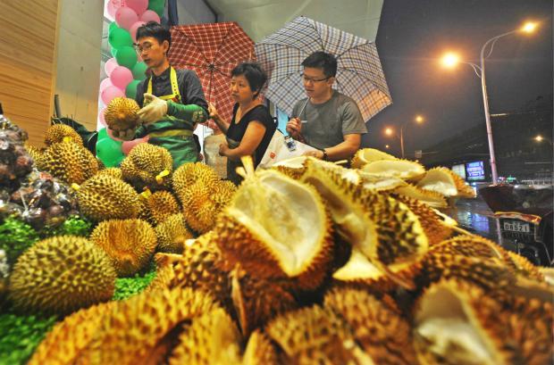 榴莲出口大增威胁马来西亚森林