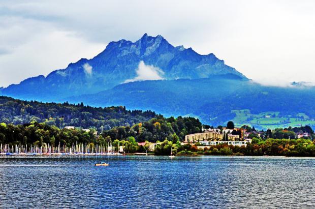 瑞士之旅:登上皮拉图斯山峰