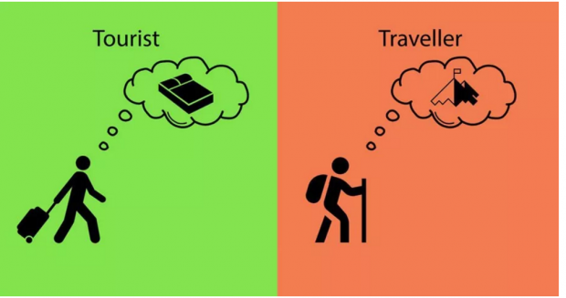 旅行跟旅游完全是两回事
