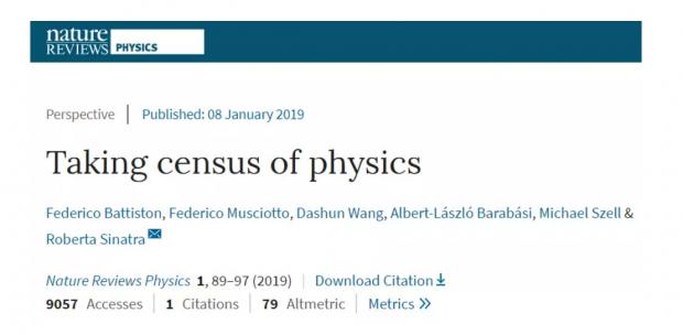 135877位学者大调查:物理学家的职业生涯是如何发展的?