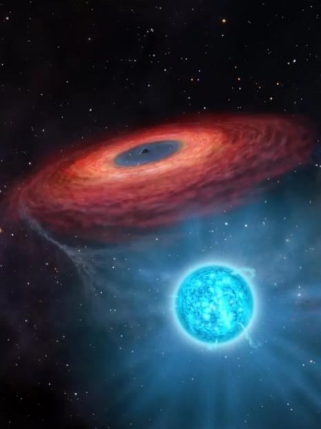 新突破:中国天文学家首次发现双星系统中的巨型黑洞