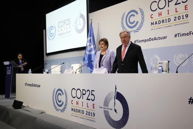 移师马德里 气候大会的变与不变