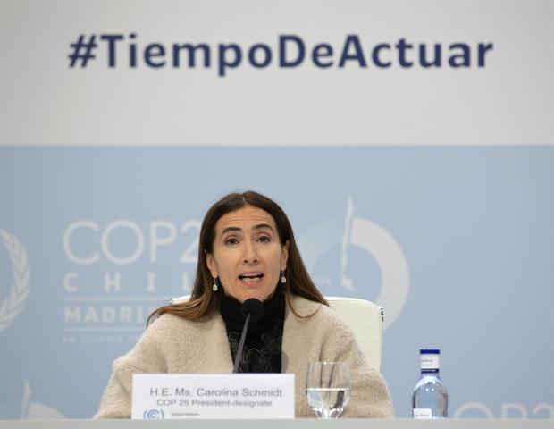 COP25主席:社会和环境危机是一个硬币的两面